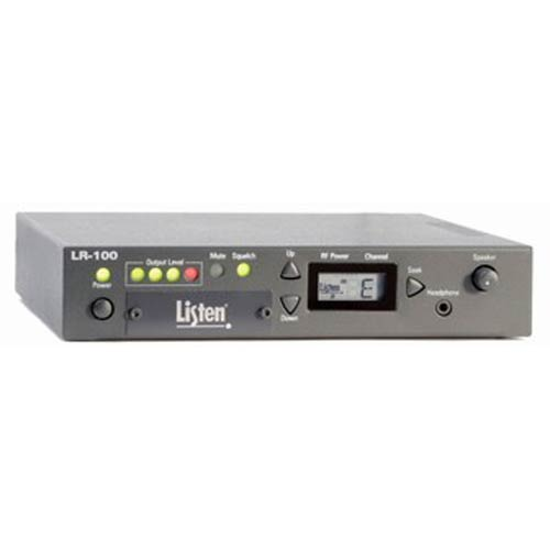 LR-100-072 | LR-100 72 Mhz Stationary FM Receiver/Power Amplifier | Listen | LR-100-072, LR-100, FM Receiver, Power Amplifier