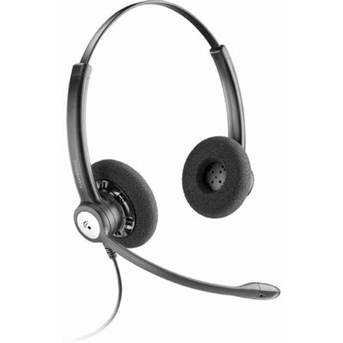 HW121N USB M | Entera Binaural Headset for Microsoft Office Communicator 2007 | Plantronics | 79930-01, MOC Headset, Microsoft Office Communicator Headset, USB Headset, PC Headset, Computer Headset, VoIP Headset, microsoft lync 2010