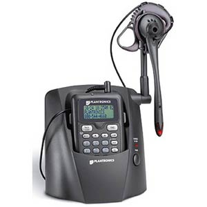 Plantronics CT12 Ultra-Compact 2.4 GHz Cordless Headset Telephone