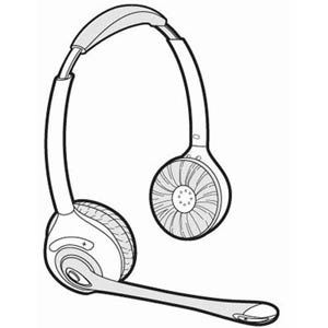 71779-02 | Spare Headset CS361N | Plantronics | 71779-01