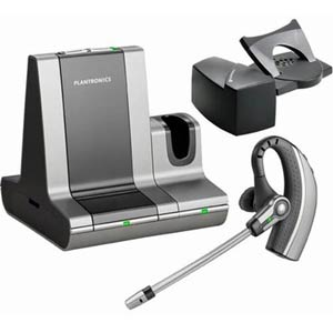 WO200 HL10 Bundle | - Savi Office Over-the-ear Wireless Headset w/ HL10 Headset Lifter | Plantronics | savi bundle