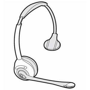 71778-01 | Spare Headset CS351N | Plantronics | 71778-10