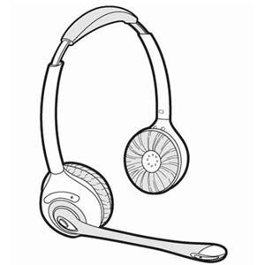 71779-01 | Spare Headset CS361N | Plantronics | 71779-02
