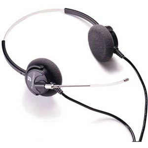 Plantronics H61 Supra Binaural Voice Tube Headset
