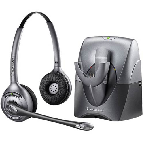 Cs361n Supraplus Wireless Binaural Noise Canceling Headset Plantronics 70520 01 70520 02 Supraplus Wireless Binaural Noise Canceling