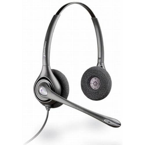 Plantronics HW261N SupraPlus Binaural Wideband Noise Canceling Headset