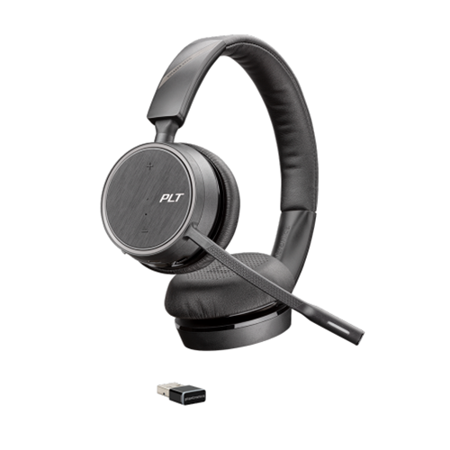 Plantronics Voyager 4220 Uc Usb A Stereo Bluetooth Headset