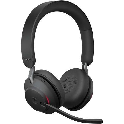 Jabra Evolve 2 65 Wireless Headset Link 380a Ms Stereo Headset Black
